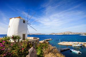 Parikia in Paros, Greece