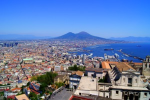View over Naples
