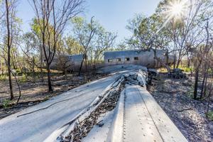 Plane wreckage in Vansittart Bay, Australia