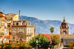 Architecture in Taormina, Sicily