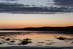 Sunset over Colonsay, Scotland