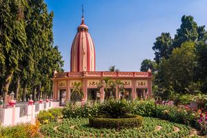 Temple of Krishna in Mayapur, India