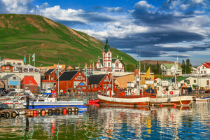 Husavik harbour, Iceland