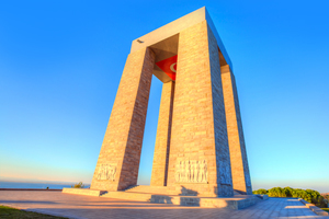 Martyrs' Memorial in Canakkale, Turkey