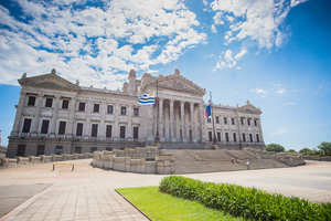Legislative Palace in Montevideo, Uruguay