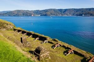 Fort in Niebla, Chile