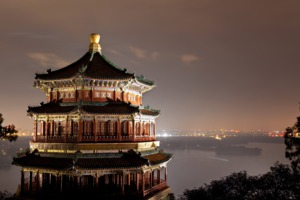 Summer Palace at night, Beijing