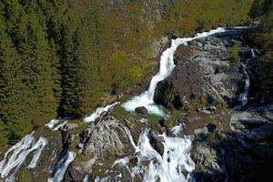 Waterfall in Rosendal, Norway