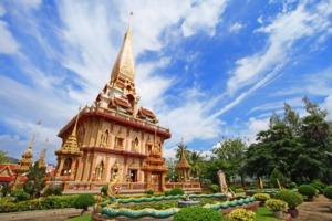 Wat Chaitharam, Phuket, Thailand