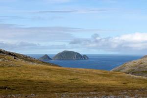 Gjesvaerstappan islands, Norway