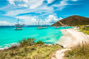 White Bay Beach, Jost Van Dyke, British Virgin Islands