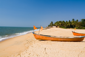 Beach at Ullal village near Mangalore, India