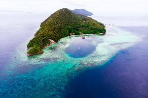 Cape Kri, Kri Island, Indonesia