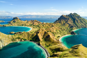 Padar, Komodo and Rinca Islands, Indonesia