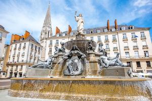 Royal Square in Nantes, France