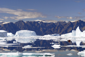 Iceberg bay, Northeast Greenland National Park