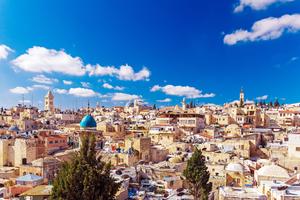 Rooftops of Jerusalem's Old City