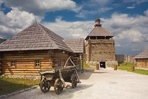 Historical museum in Zaporozhye, Ukraine