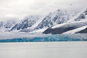 Monacobreen glacier, Liefdefjorden, Spitsbergen