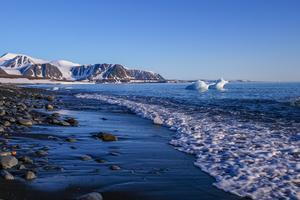 Coast of Novaya Zemlya, Barents Sea, Russia