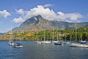 Atuona Bay, Hiva Oa, Marquesas, French Polynesia