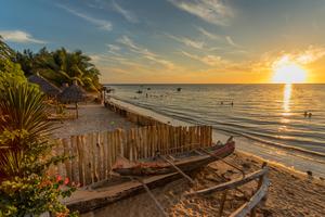 Beach near Tulear, Madagascar