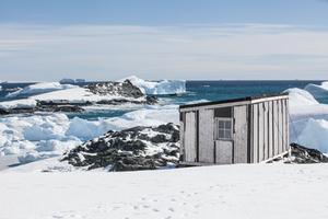 Detaille Island hut, Antarctica