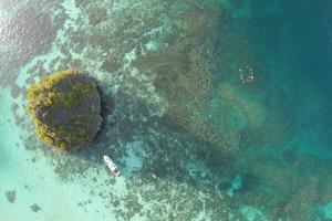 Aerial view of Wayag, Raja Ampat, Indonesia