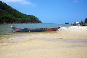 Bu Lu river delta near Chan May Bay, Vietnam