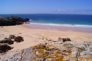 Houat island, Brittany, France