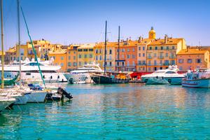Saint Tropez harbour, France