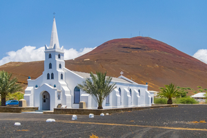 Church in Georgetown, Ascension Island