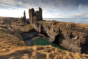 Girnigoe castle near Scrabster, Scotland