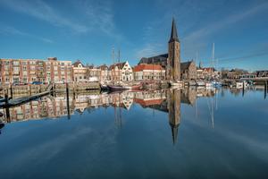 Harlingen harbour, Netherlands