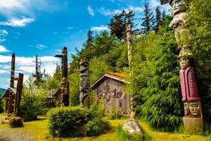 Totem Bight State Historic Site, Ketchikan, Alaska