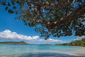 Beach on St Thomas, US Virgin Islands