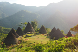 Wai Rebo village, Flores, Indonesia