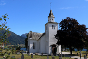 Church in Ulvik, Norway