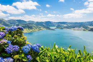 Sete Cidades lake, Azores