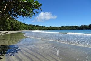 Beach on Isla Parida, Panama