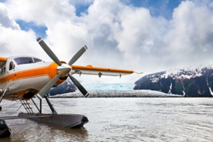 Seaplane in Juneau, Alaska
