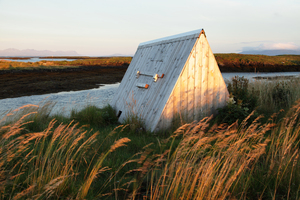 Duck shelter in the Vega Archipelago, Norway