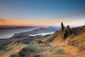Sunset over the Isle of Skye