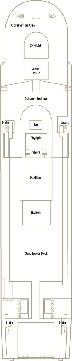 Crystal Mozart deck plans - Deck 4