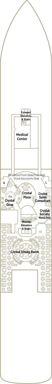 Crystal Serenity Deck Plans - Deck 5