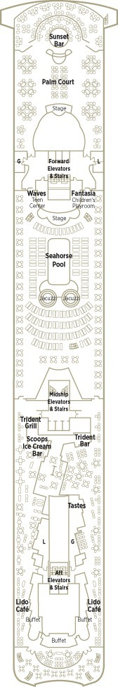 Crystal Serenity Deck Plans - Deck 12