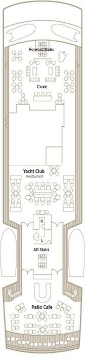 Crystal Esprit Deck Plans - Crystal Deck