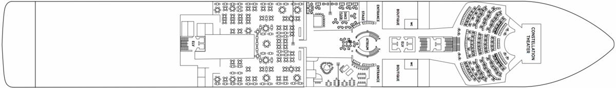 Regent Seven Seas Explorer deck plans - Deck 4