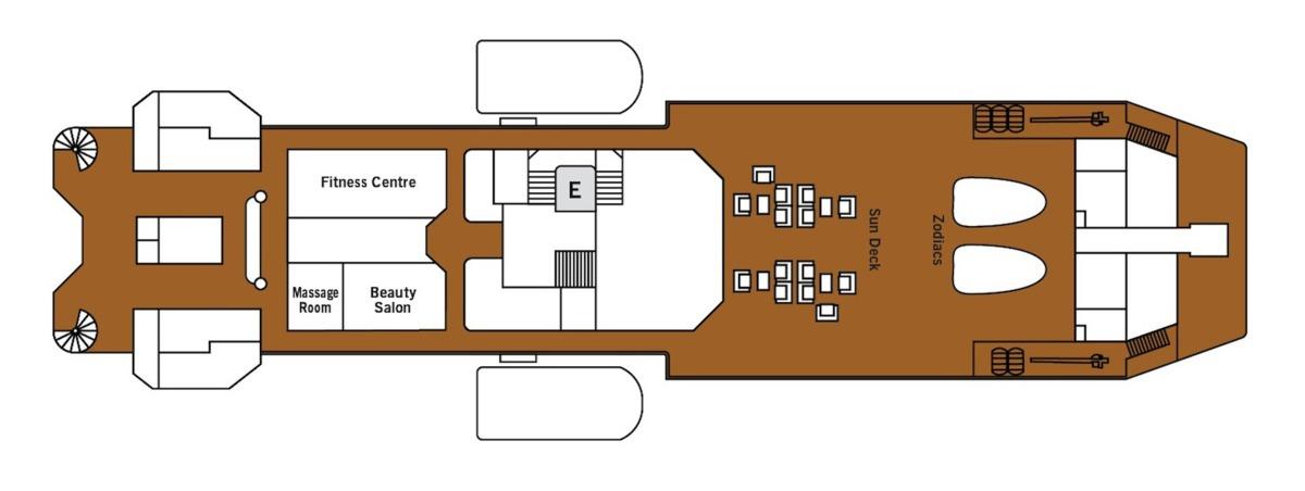 Silver Discoverer deck plans - Deck 7