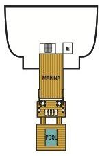 Seabourn Odyssey, Sojourn & Quest deck plans - Deck 2